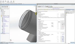 LV in Solidworks integriert