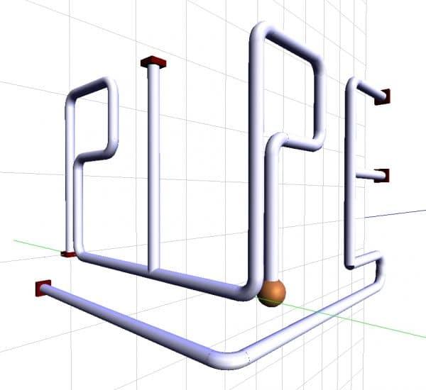 Räumliche Rohrleitungssysteme (LV PIPE II)